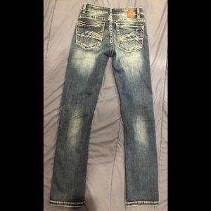 BKE Stella Mid-Rise Straight Women's Jeans SZ 26